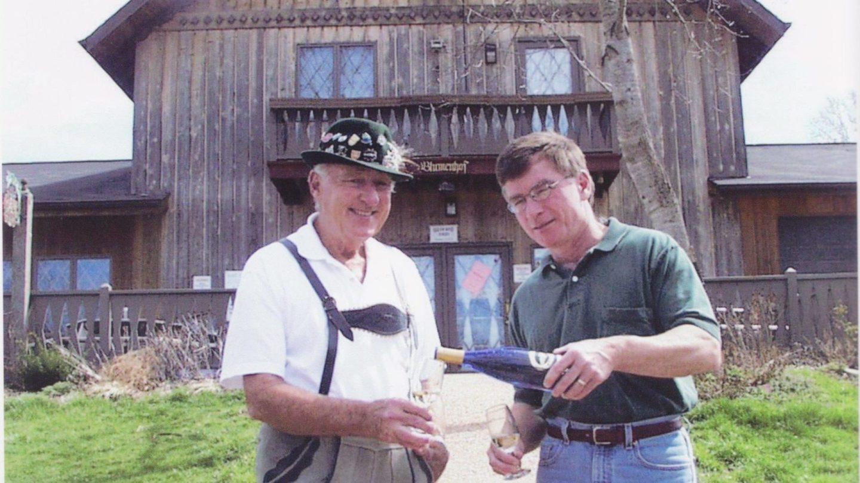 Mark and Jim Blumenberg
