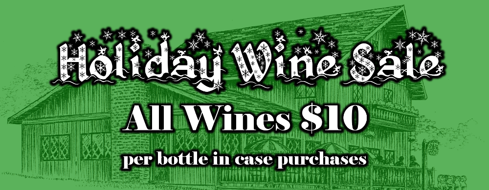 Holiday Wine Sale 2017