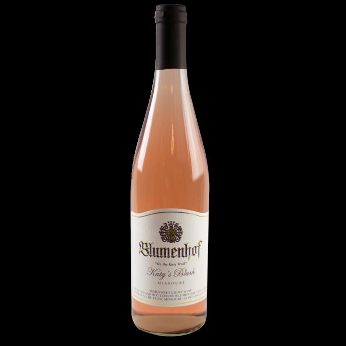 Katy's Blush - Semi Dry Wine at Blumenhof Winery