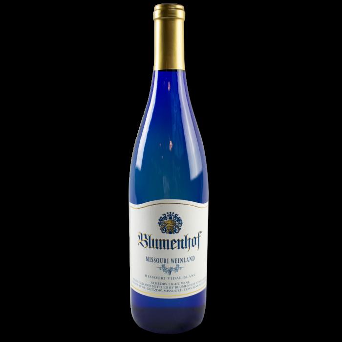 Missouri Weinland - Semi Dry White Wine at Blumenhof Winery