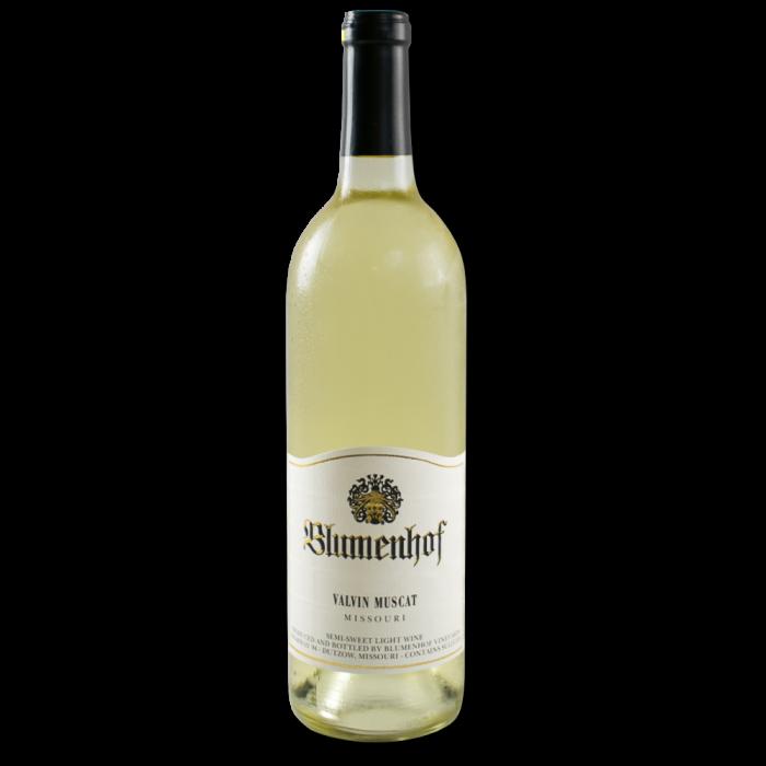 Valvin Muscat - Semi-Sweet White Wine at Blumenhof Winery