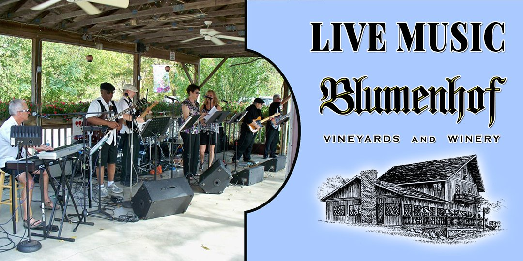 8 Track Band at Blumenhof Winery