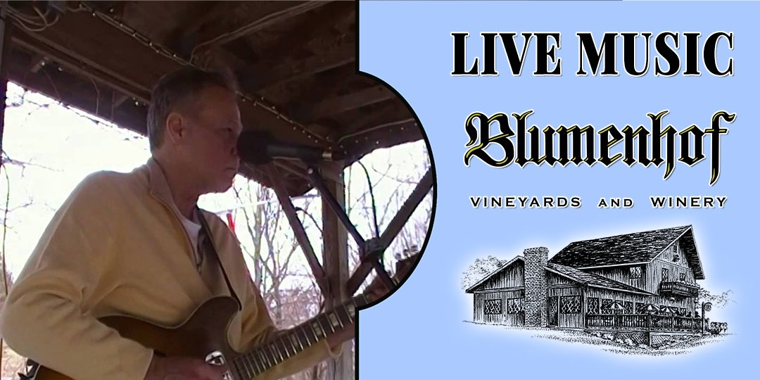 Stuart Johnson at Blumenhof Winery