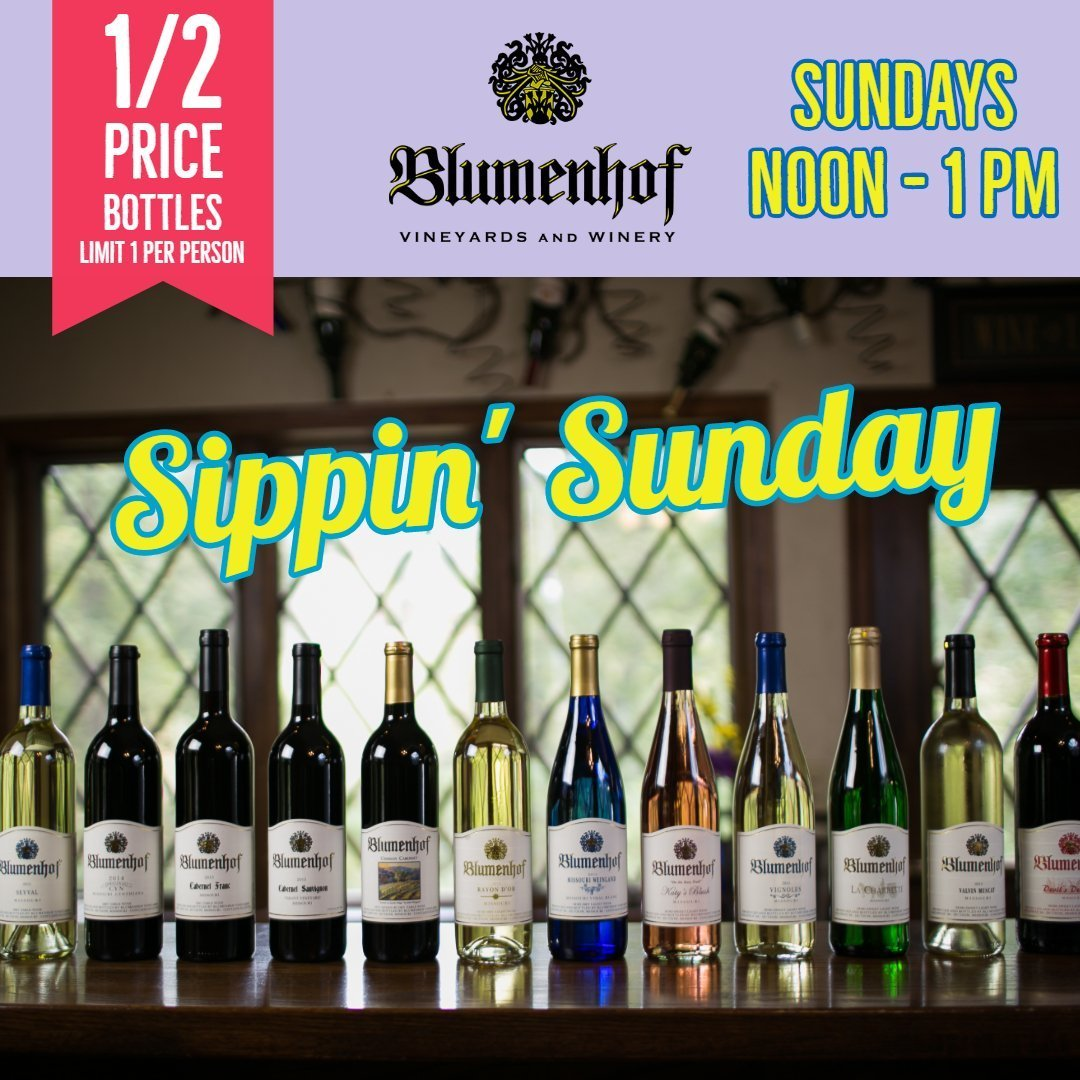 Sippin Sunday at Blumenhof Winery