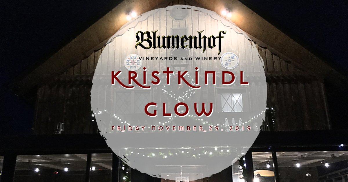 Kristkindl Glow at Blumenhof Winery