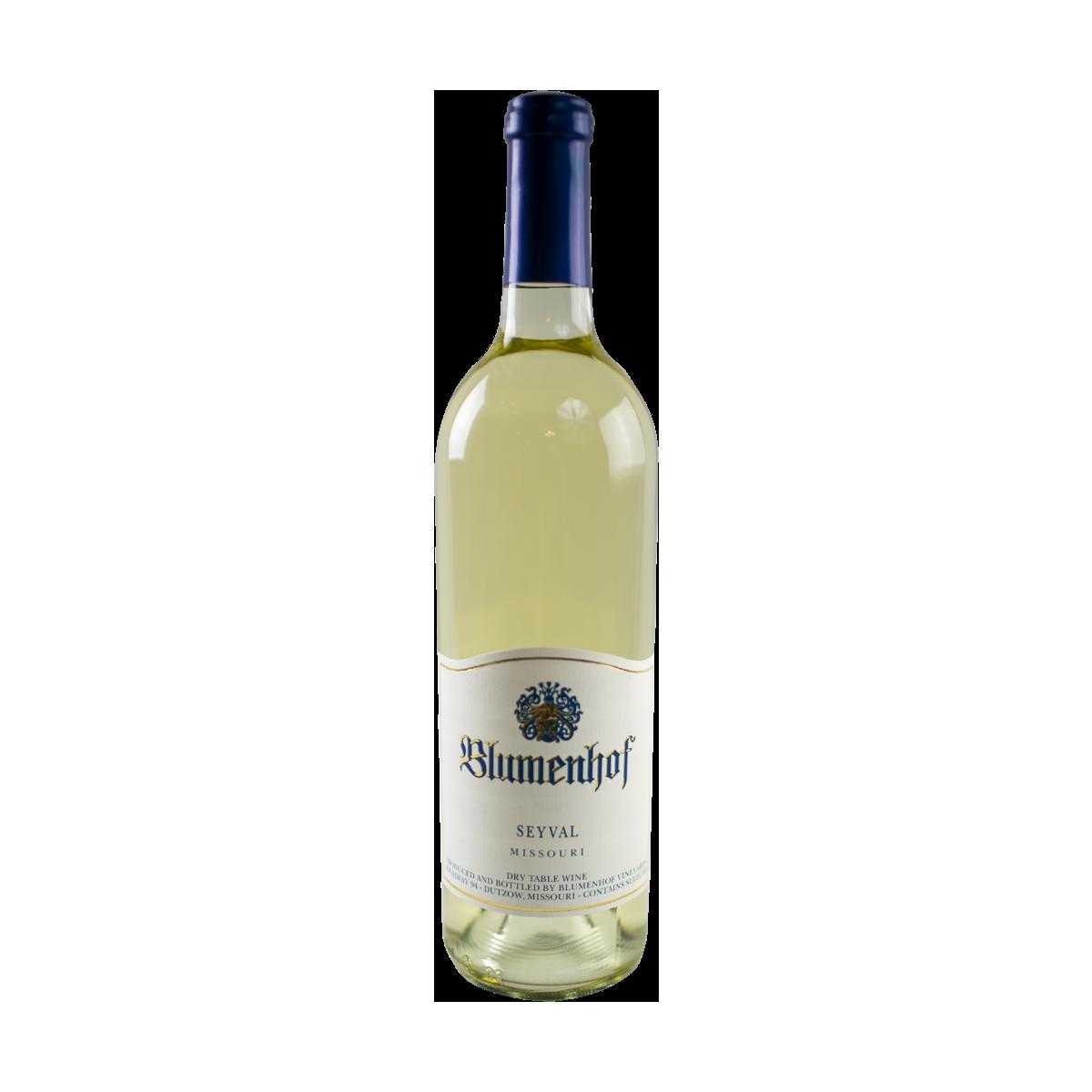 Bottle of Blumenhof Seyval