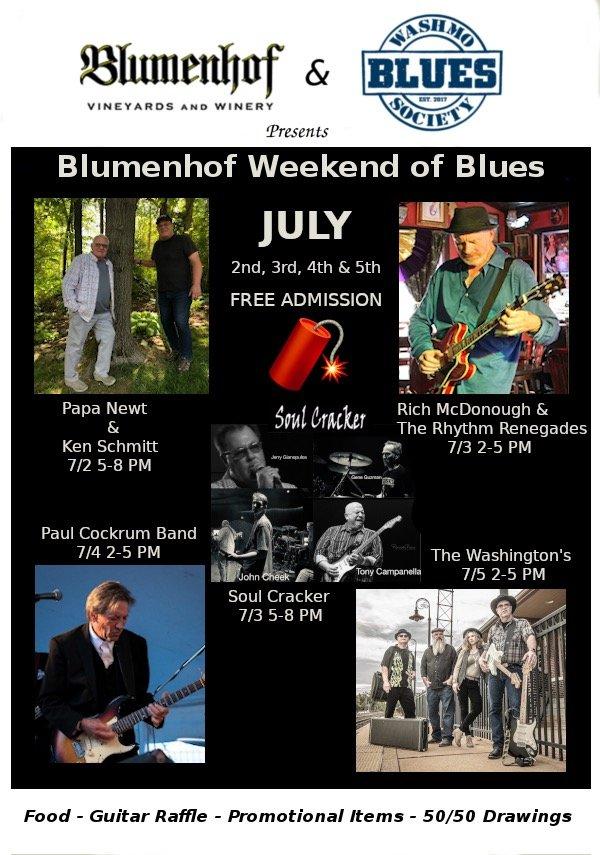 Blumenhof Weekend of Blues